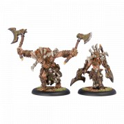 Hordes - Kromac the Ravenous & Beast Form pas cher