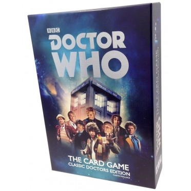 Doctor Who : The Card Game Classic Doctors Edition