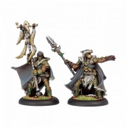 Hordes - Wolves of Orboros Chieftain & Standard