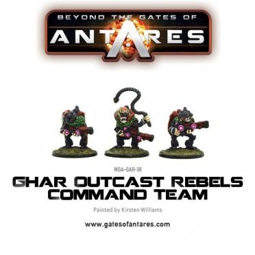 Antares - Ghar Outcast Rebels Command Team