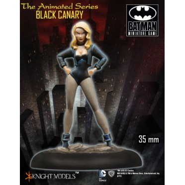 Batman - Animated Series : Black Canary