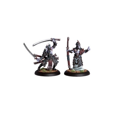 Hordes - Blighted Nyss Swordsmen Abbot & Champion