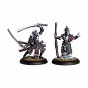 Hordes - Blighted Nyss Swordsmen Abbot & Champion pas cher