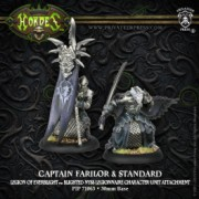 Hordes - Captain Farilor & Standard