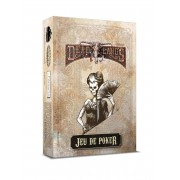 Deadlands : Reloaded - Jeu de Poker Blanc