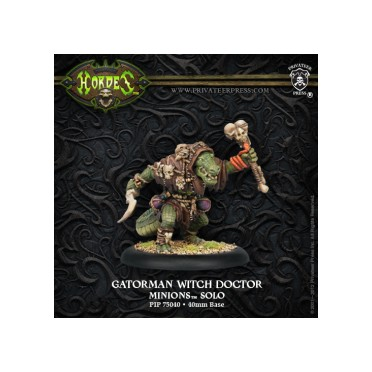 Hordes - Gatorman Witch Doctor