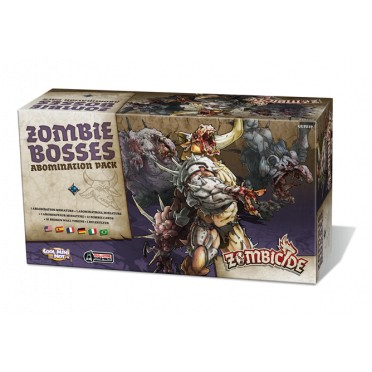 Zombicide : Black Plague - Zombie Bosses - Abomination Pack