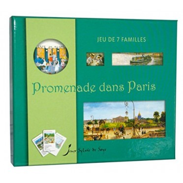 Jeu de 7 Familles - Promenade dans Paris