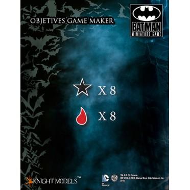 Batman - Damage Game Markers