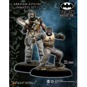 Batman - Arkham Asylum Inmates