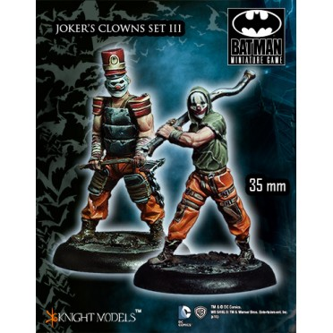 Batman - Jokers Clowns Set 3