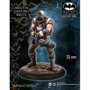 Batman - Militia Gatling Brute