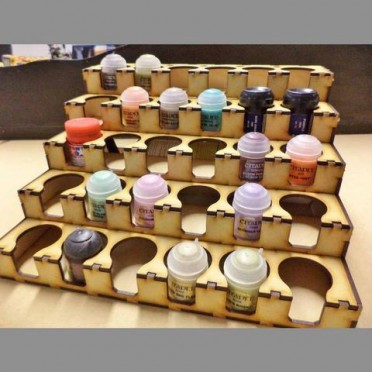 Paint Rack 30 GW / Citadel / Tamiya Size