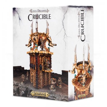 Age of Sigmar : Décors – Chaos Dreadhold Crucible