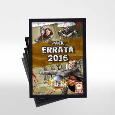 Eden - Deck Pack Errata 2016