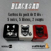 Blacksad - Set de 12 dés