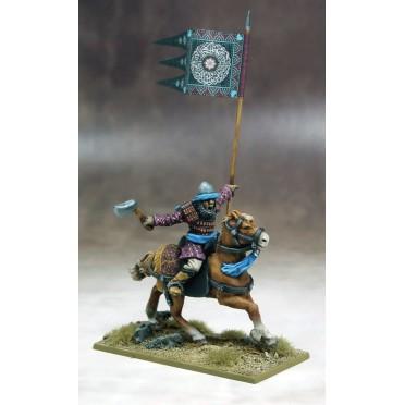 Saga - Bannière de Guerre Sarrasine et Porteur