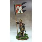 Saga - Bannière de Guerre Jomsvikings et Porteur