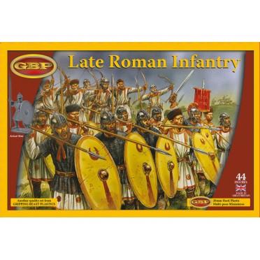 Saga - Infanterie Romaine Tardive / Brito-Romains en Plastique