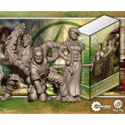 Guild Ball - Alchemist Starter Set (Midas, Calculus, Mercury)