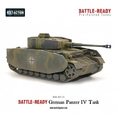 Bolt Action - Panzer IV Battle Ready Tank