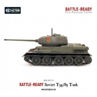 Bolt Action - T34 Battle Ready Tank