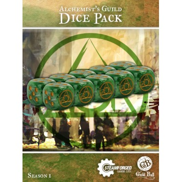 Guild Ball - Alchemist Dice x10
