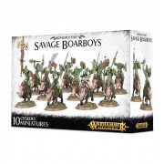 Age of Sigmar : Destruction - Bonesplitterz - Savage Boarboys