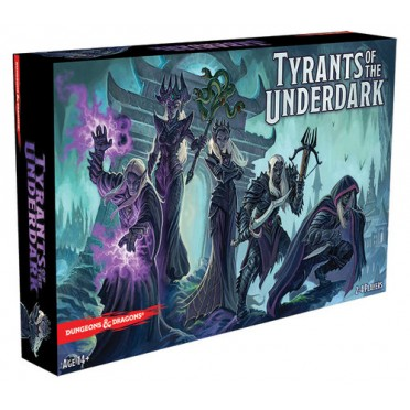 Dungeons & Dragons : Tyrants of the Underdark Game