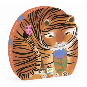 Puzzle Silhouette - La Balade du Tigre
