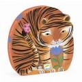 Puzzle Silhouette - La Balade du Tigre 0