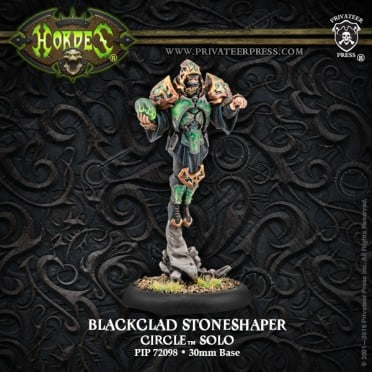 Hordes - Blackclad Stoneshaper