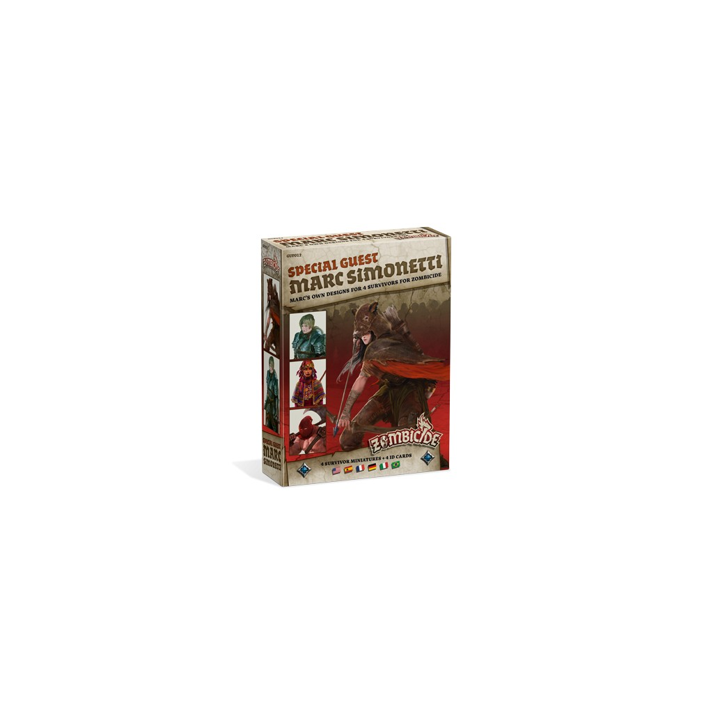Figurines zombicide black plague special guest marc for Porte zombicide