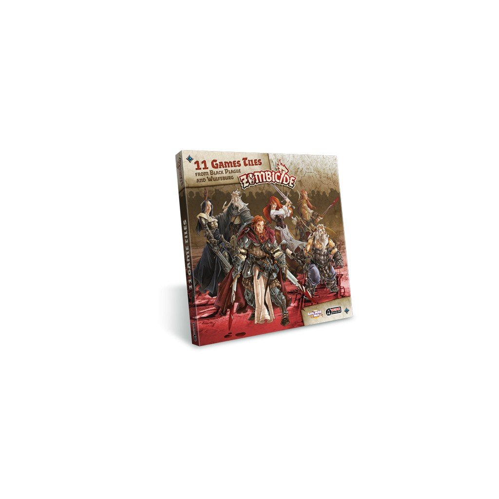 Coffret zombicide black plague extra tiles pack for Porte zombicide