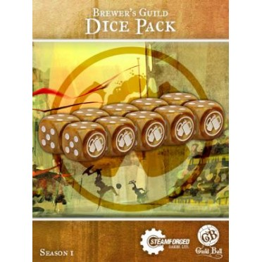 Guild Ball - Brewer's Dice x10