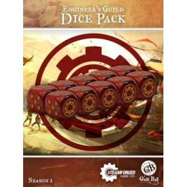 Guild Ball - Engineer's Dice x10
