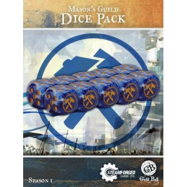 Guild Ball - Mason's Dice x10