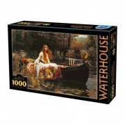 Puzzle - The Lady of Shalott de John William Waterhouse - 1000 Pièces