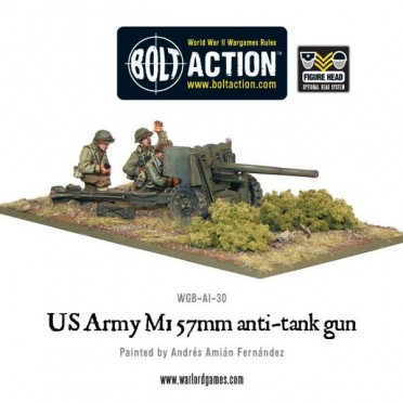 Bolt Action - US Army M1 57mm anti-tank gun