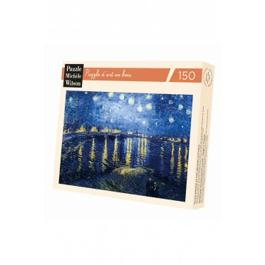 Nuit Étoilée sur le Rhône de Van Gogh - 150 pièces