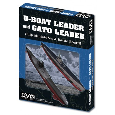 U-Boat Leader & Gato Leader Ship Miniatures
