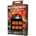 Dice Set D6 - Battletech House : Davion 0