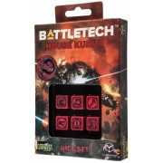 Dice Set D6 - Battletech House : Kurita
