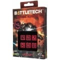 Dice Set D6 - Battletech House : Kurita 0