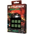 Dice Set D6 - Battletech House : Liao 0