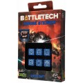Dice Set D6 - Battletech House : Steiner 0