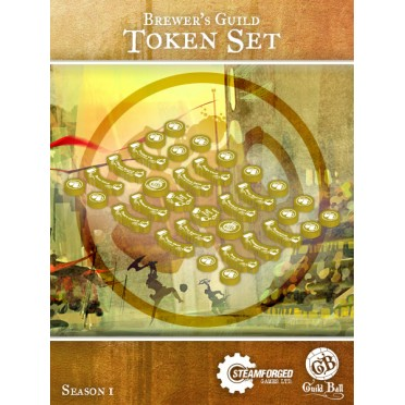 Guild Ball - Brewer's Token Set