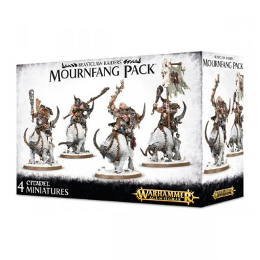 Age of Sigmar - Beastclaw Raiders : Mournfang Pack