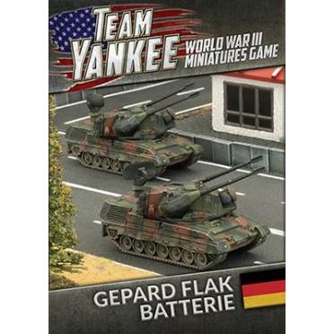 Team Yankee - Gepard Flakpanzer Batterie