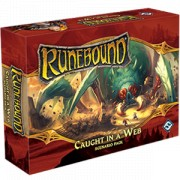 Runebound 3rd Edition - Caught in a Web Scenario Pack